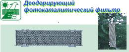 Фотокаталитический деодорирующий фильтр