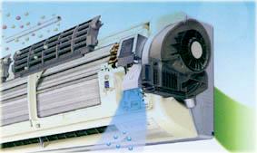 RAS-10JH2 - Инверторный кондиционер с приточно-вытяжной вентиляцией