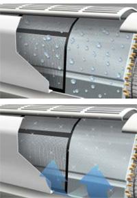 Авто очистка в кондиционерах LG NEO plasma