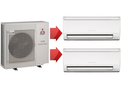 Mitsubishi Electric серии MXZ-2C-3C-4C-5C-6C
